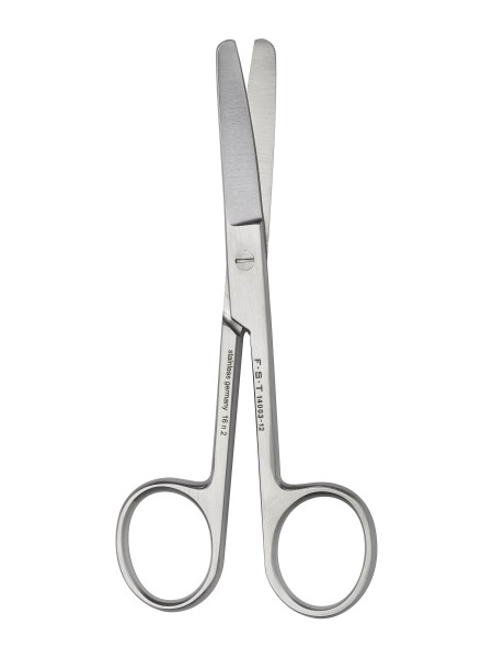 FST Surgical Scissors - Curved/Blunt-Blunt/12cm