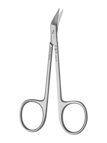 Dissektorschere - Schwere Klingen seitlich / scharf-scharf / 10,5 cm