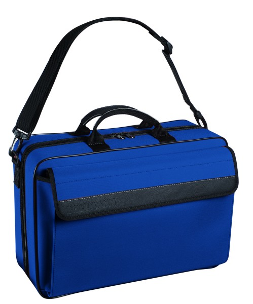 Bollmann Arztkoffer Medicare XL Polymousse blau