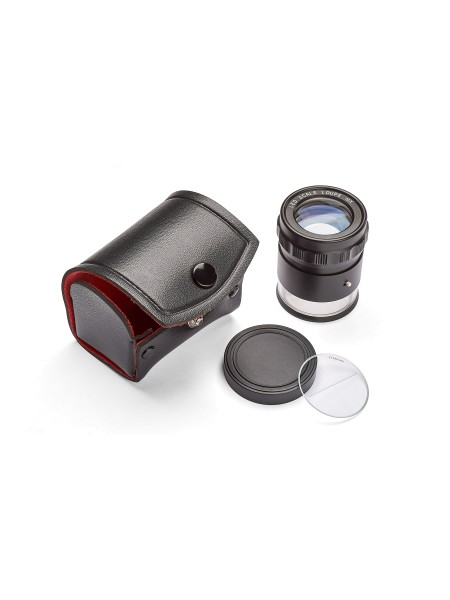 Ideal-tek Lupe 10x mit Mikrometer und LED
