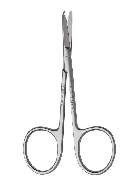 FST Spencer Ligature Scissors - Straight/Sharp-Sharp/9cm