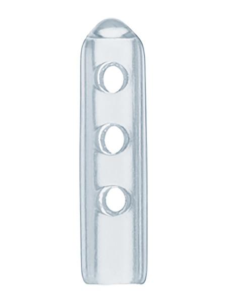 Instrumentenspitzenschutz - 4,8 x 25,4 mm / klar