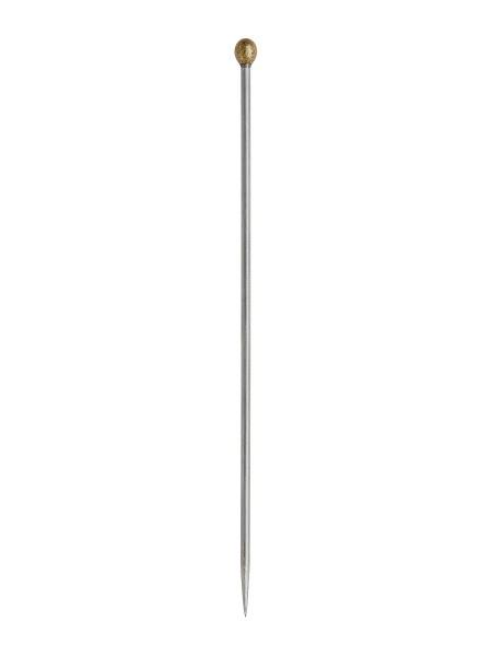 Nadeln - Edelstahl / Größe 6 mit Nylonkopf