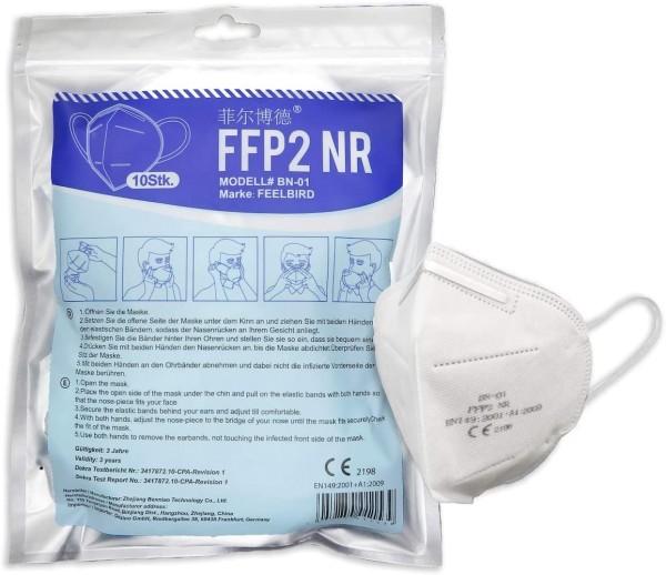 Feelbird FFP2 Masken CE + Dekra geprüft