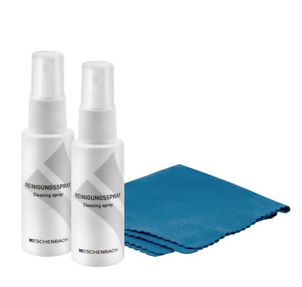 Reinigungsspray Set, 2x 30ml, inkl Mikrofaser Tuch